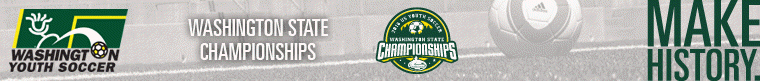 2016 US Youth Soccer Washington State Championships banner